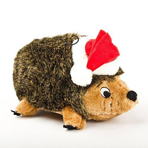Outward Hound Squeaking Plush Dog Toy - Hedghog