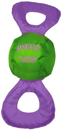 Jolly Pets Jolly Tug Squeak Dog Toy - Medium