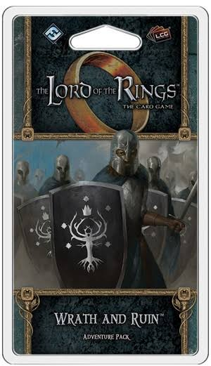 Fantasy Flight Games The Lord of the Rings Lcd Wrath and Ruin Adventure Packs