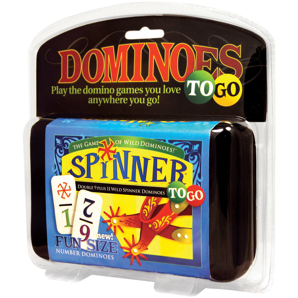 University Games Dominoes Spinner To Go Game