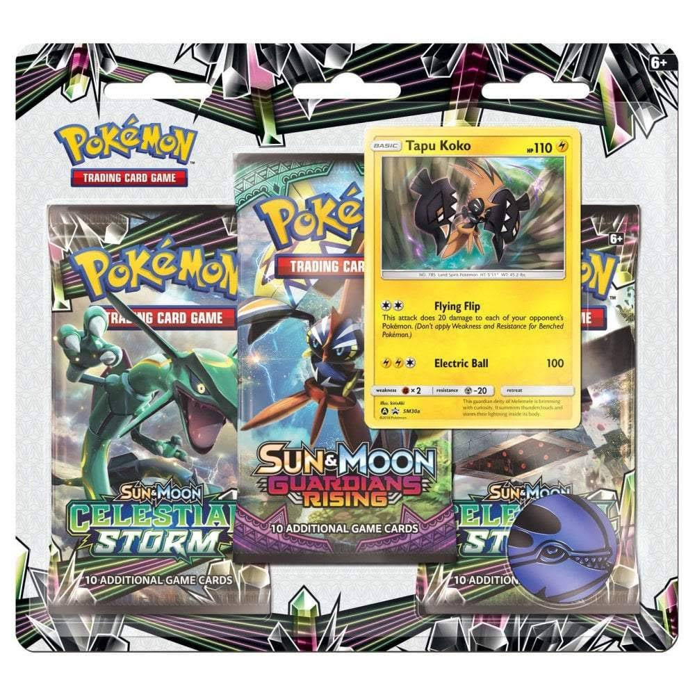 "Pokemon Trading Card Game - 7"", 3pk"