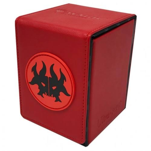 Ultra Pro Official Magic: The Gathering Alcove Flip Deck Box - Guilds of Ravnica Rakdos