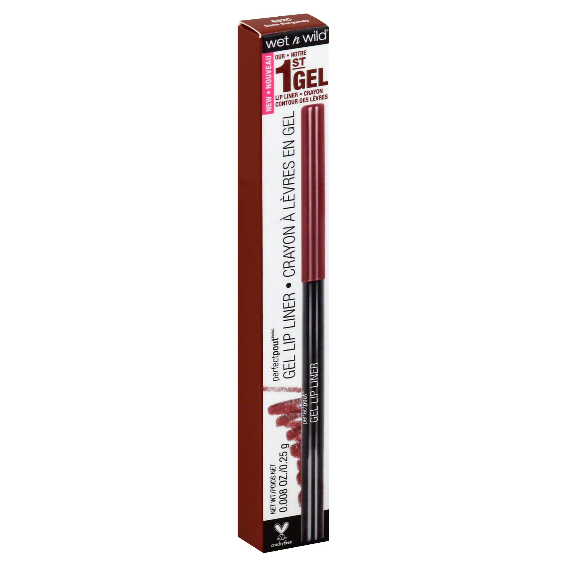 Wet N Wild Pout Gel Lip Liner - 652c Gone Burgundy