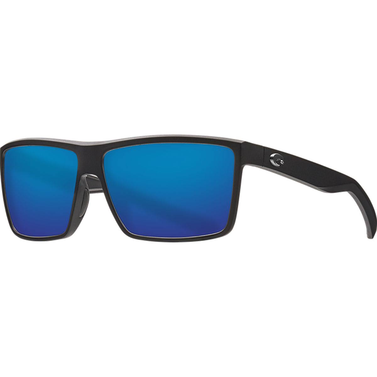 Costa Del Mar Rinconcito - Matte Black/Blue Mirror 580G