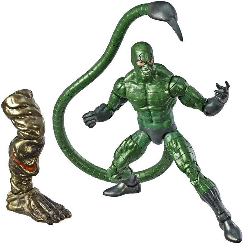 Marvel Spider-Man Legends Series Collectible Figure - Marvel's Scorpion, 6""