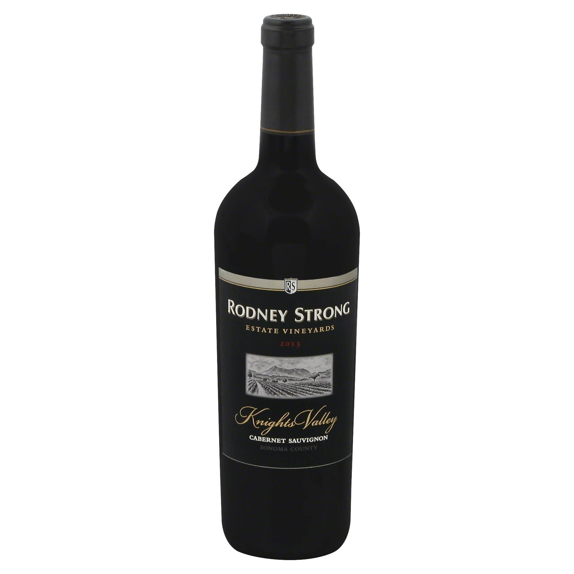 Rodney Strong Cabernet Sauvignon, Knights Valley, Sonoma County 2013 - 750 ml