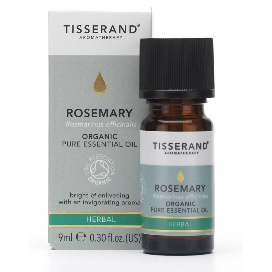 Tisserand Organic Essential Oil 9ml - Rosemary