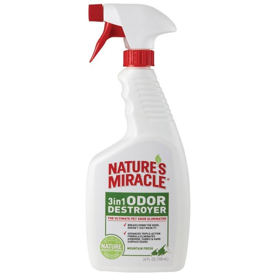 Nature's Miracle 3-in-1 Odor Destroyer - 24 oz