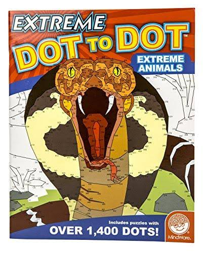 Extreme Dot to Dot Puzzle Extreme Animals Activity Book