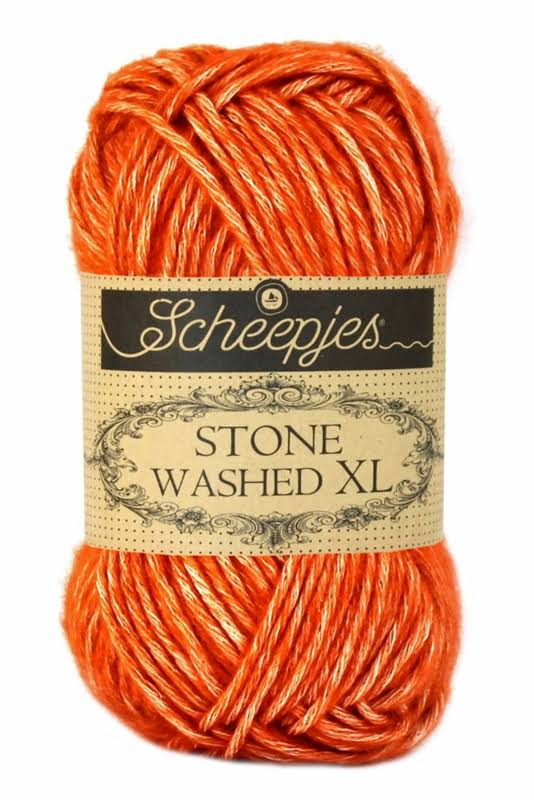 Scheepjes Stone Washed XL Garn Mix - 856 Coral