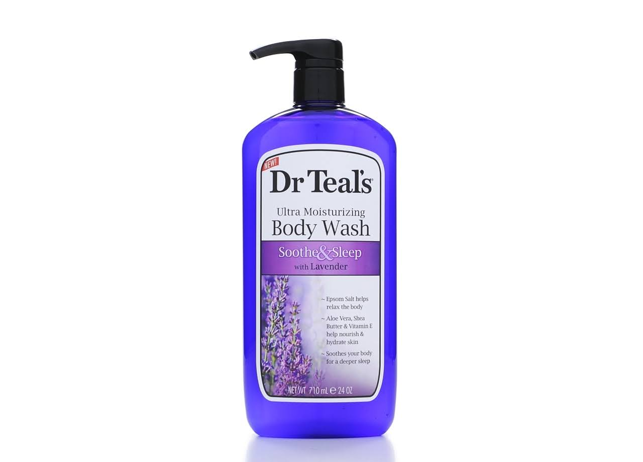 Dr Teal's Body Wash - Soothe and Sleep with Lavender, 710ml