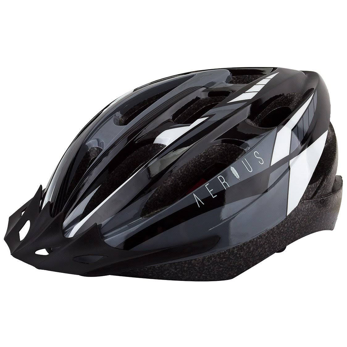 Aerius V19-Sport Helmet MD/LG Black/Grey