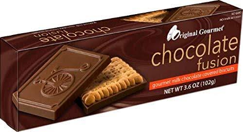 Original Gourmet Chocolate Fusion Covered Biscuit, Gourmet Milk Chocolate - 3.6 oz