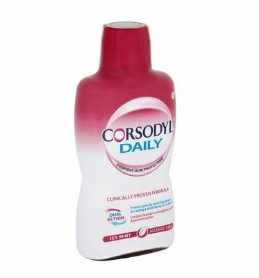 Corsodyl Daily Mouthwash - Icy Mint, 500ml