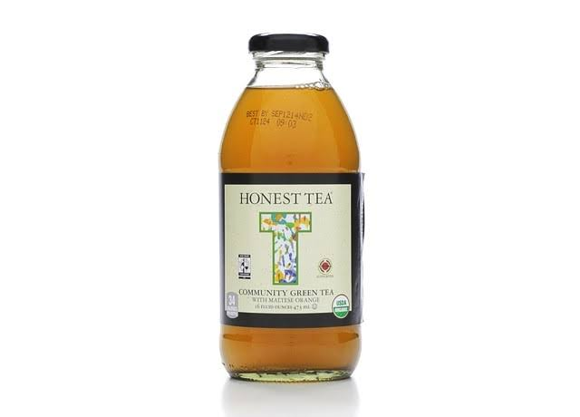 Honest Tea Community Green Tea - With Maltese Orange