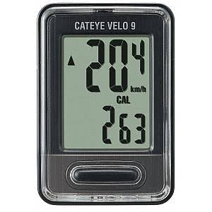 CatEye CC-VL820 Velo 9 Bicycle Computer - Black