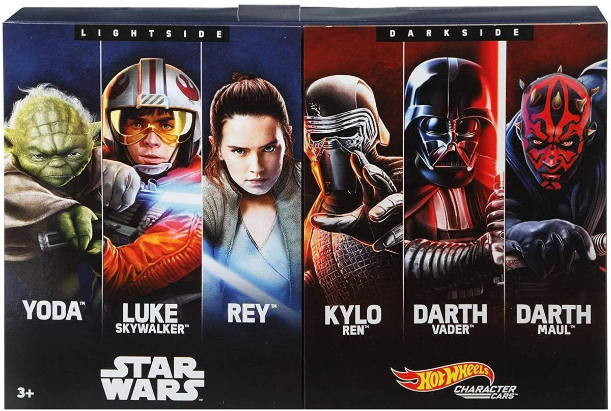 Hot Wheels Star Wars 6-Piece Character Cars Set