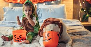 Halloween Candy Dish That Talks by Halloween Pet Dangers Include Candy Costumes And Fright
