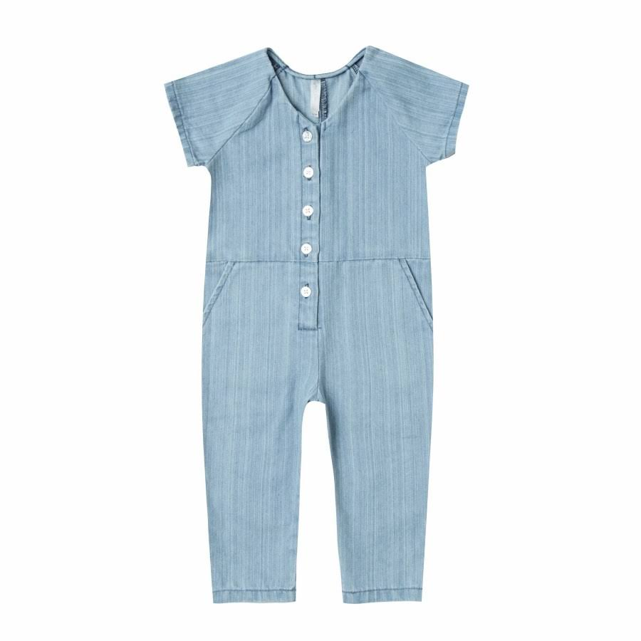 Rylee and Cru Utility Jumpsuit Washed 6/7