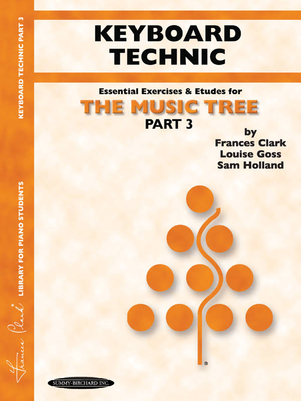 The Music Tree, Part 3, Keyboard Technic