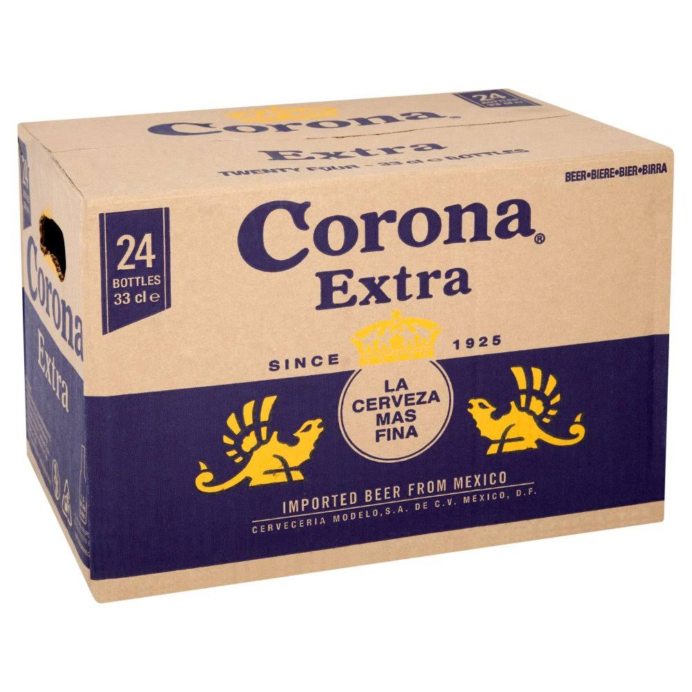Corona Extra Lager Beer - 330ml 24pk