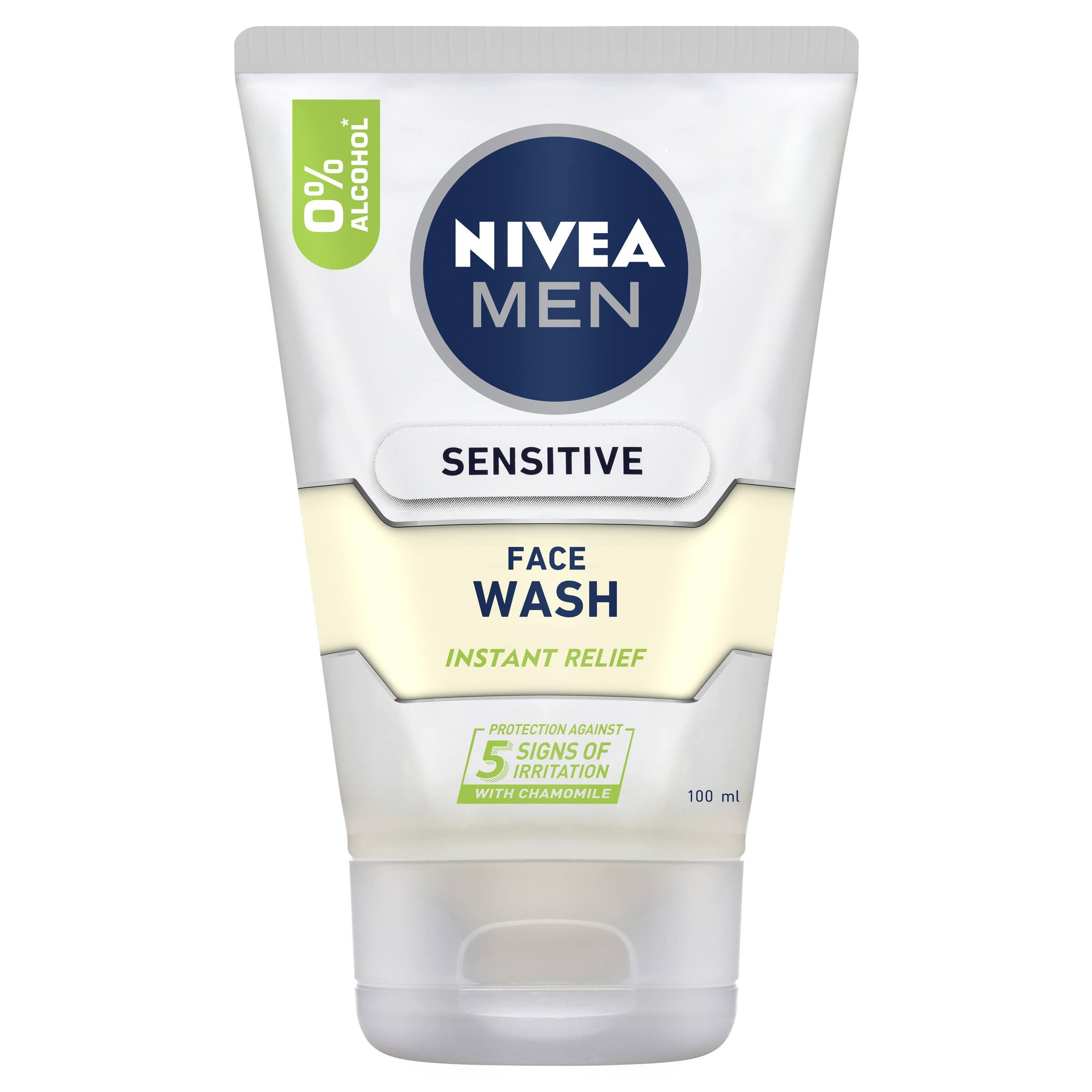Nivea Men's Sensitive Face Wash - 100ml