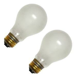 GE 60-Watt Rough Service Light Bulb
