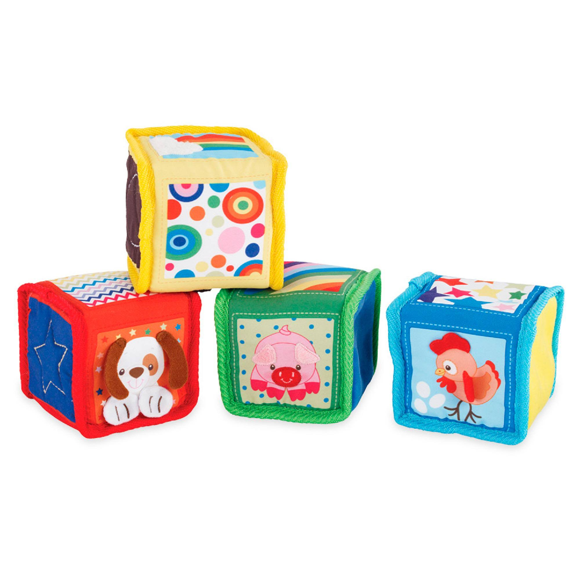 Earlyears Soft Baby Blocks Toy