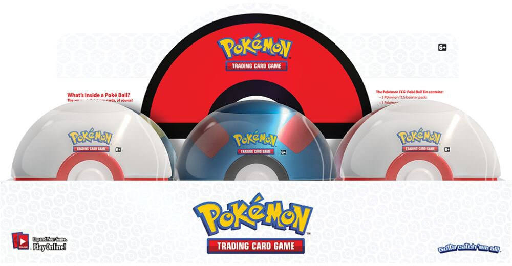 Pokémon: Poke Ball Tin Wave 3
