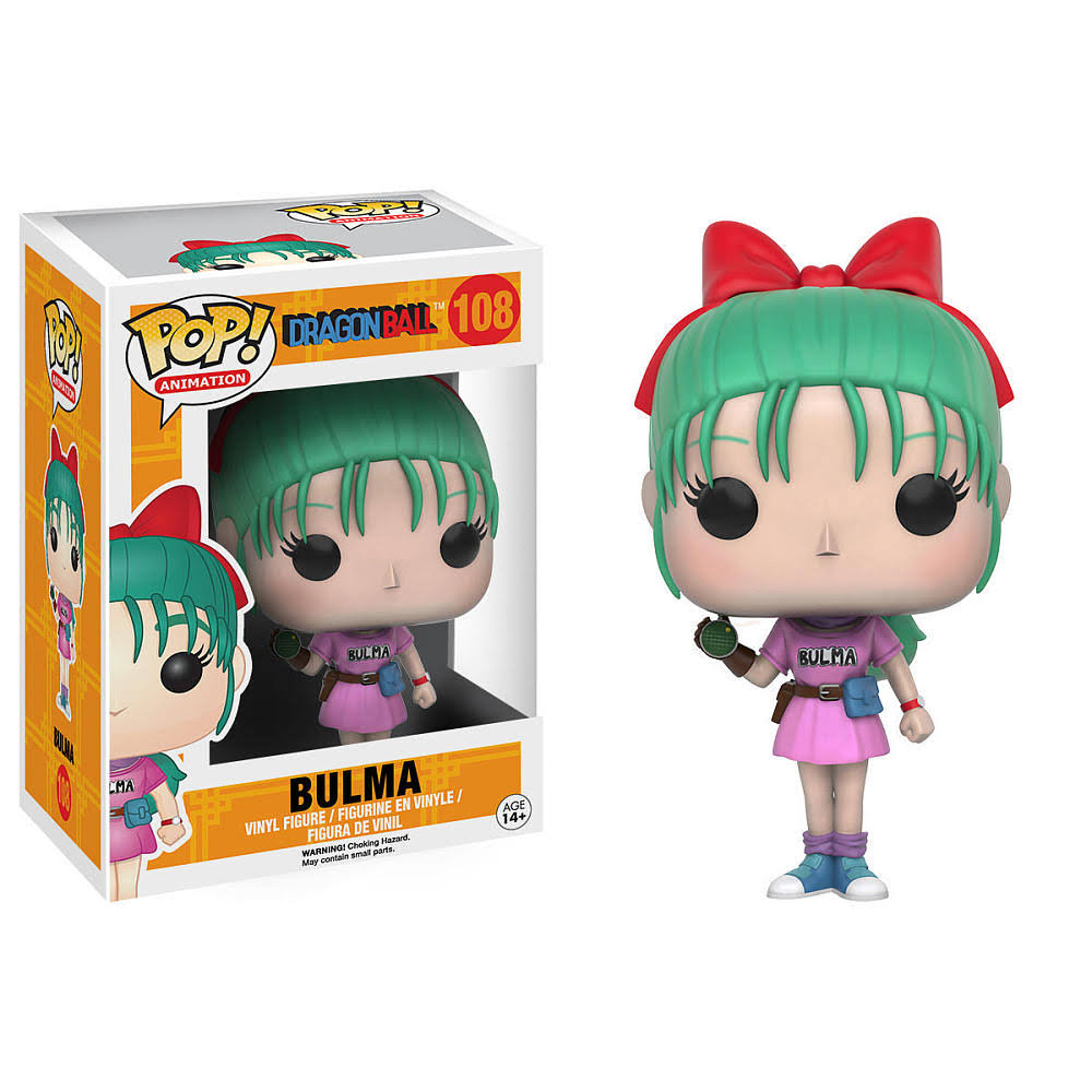 Pop! Dragon Ball Bulma Figure - 10cm
