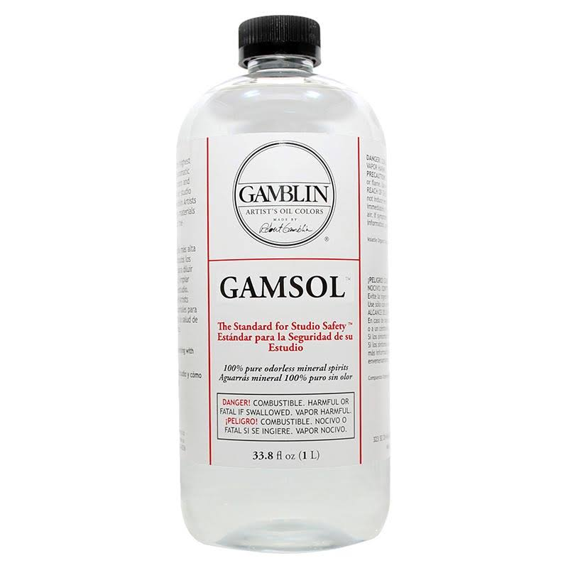 Gamblin - Gamsol - 32 oz.