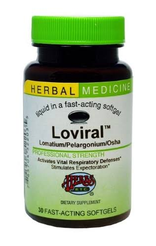 Herbs ETC Loviral Supplements - 30ct