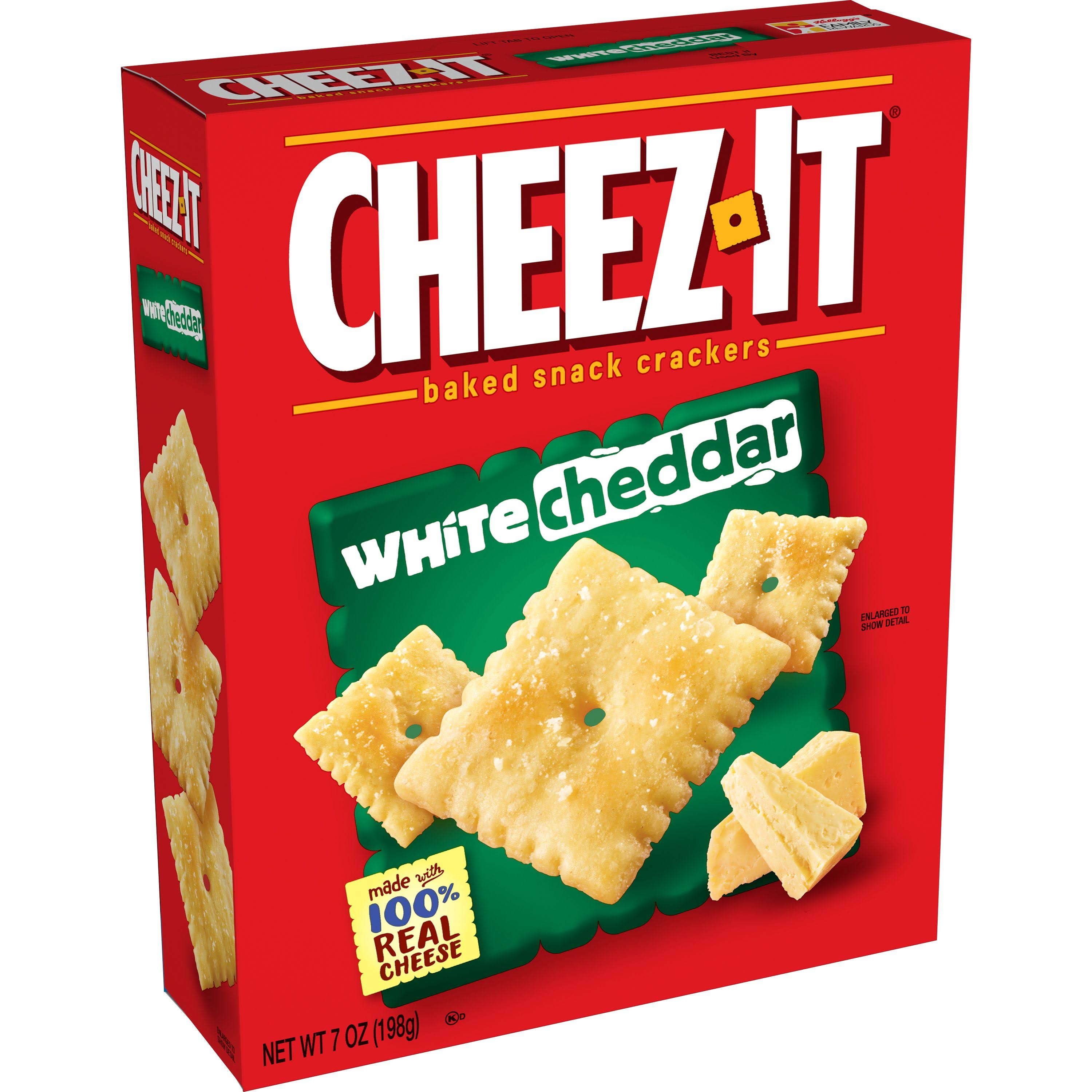 Cheez it Baked Snack Crackers - 7oz, White Cheddar