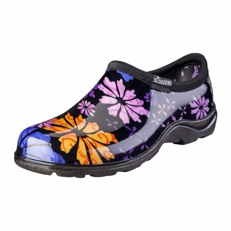 Sloggers 5116fp08 Women's Gloves Floral Collection Rain Garden Shoes - 8 US