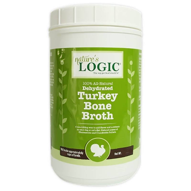 Nature's Logic Dehydrated Turkey Bone Broth, 6 oz