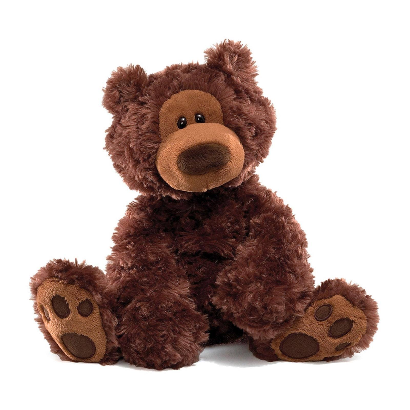 Gund Philbin Teddy Bear Plush Toy - Chocolate, 12″