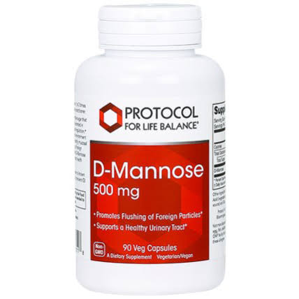 Protocol For Life Balance - D-Mannose - 90 Capsules