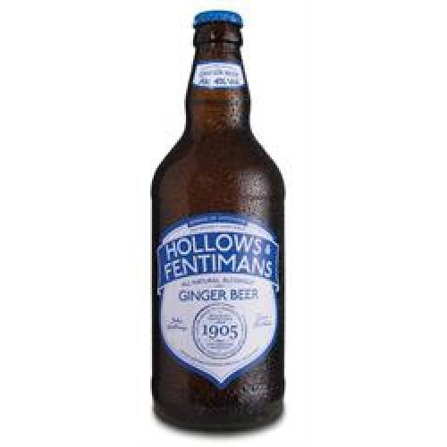 Hollows and Fentimans Alcoholic Ginger Beer - 500ml