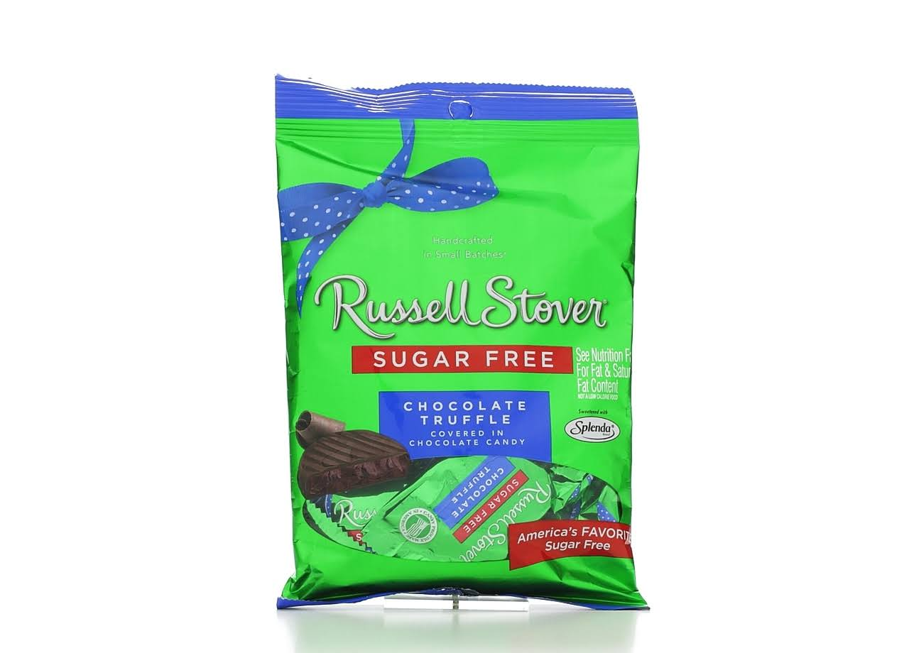 Russell Stover Sugar Free Chocolate Truffles - 3oz