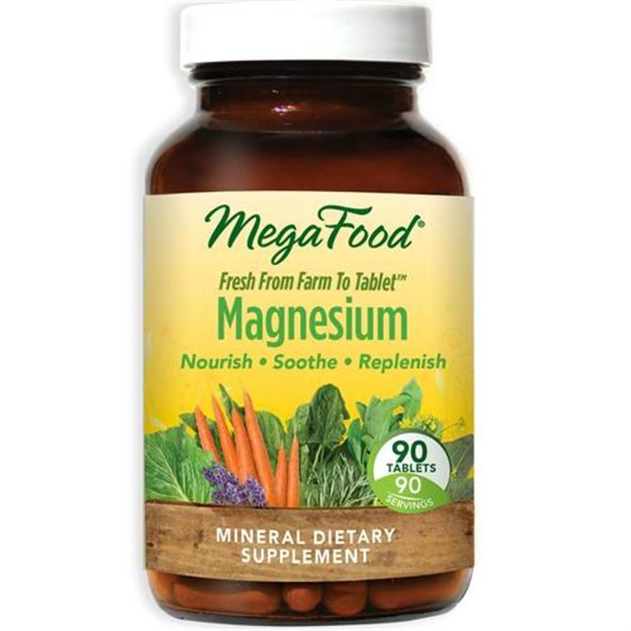 MegaFood Magnesium Supplement - 90 Tablets