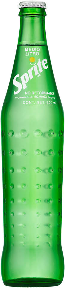Sprite Cola 500 mL Glass Bottle
