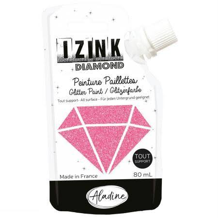 Aladine Izink Diamond Glitter Paint - Peach Pink [80827]