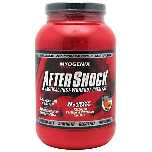 Myogenix After Shock - Orange Avalanche