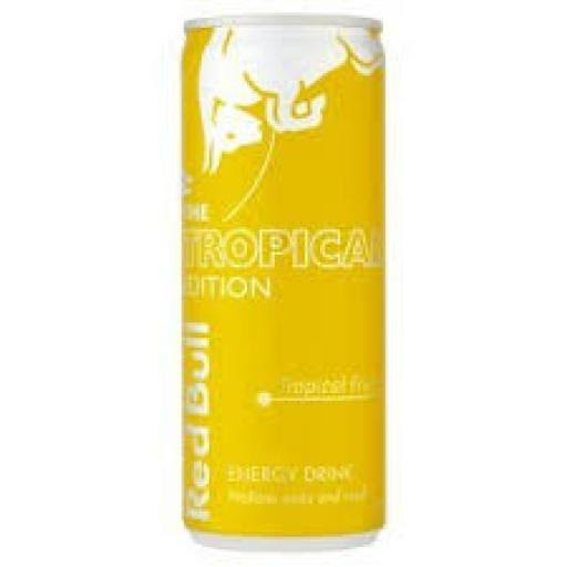 Red Bull Tropical Edition Energy Drink - 250ml