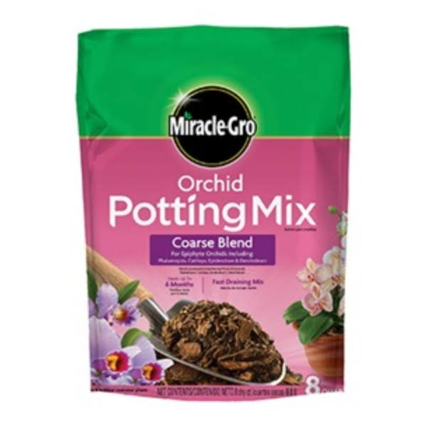 Miracle-Gro Orchid Coarse Potting Mix - 8 Quart