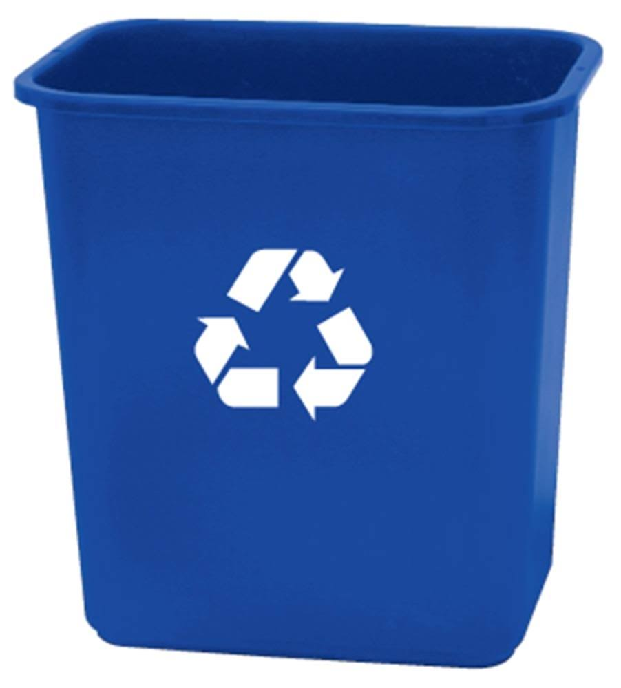 United Solutions Plastic Recycling Wastebasket