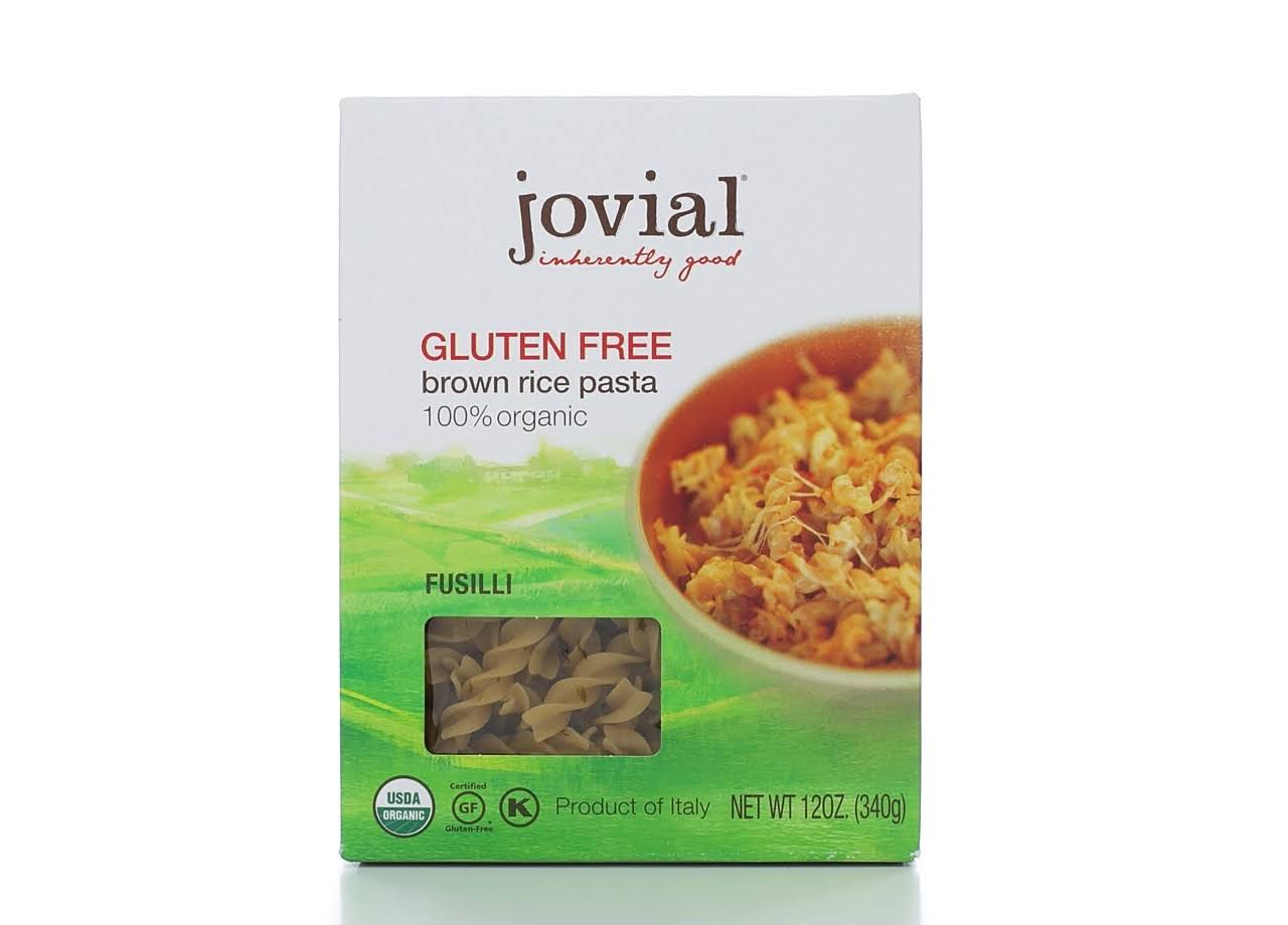 Jovial Organic Brown Rice Pasta - Fusilli, 12oz
