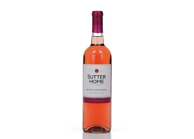 Sutter Home White Zinfandel, California (Vintage Varies) - 750 ml bottle