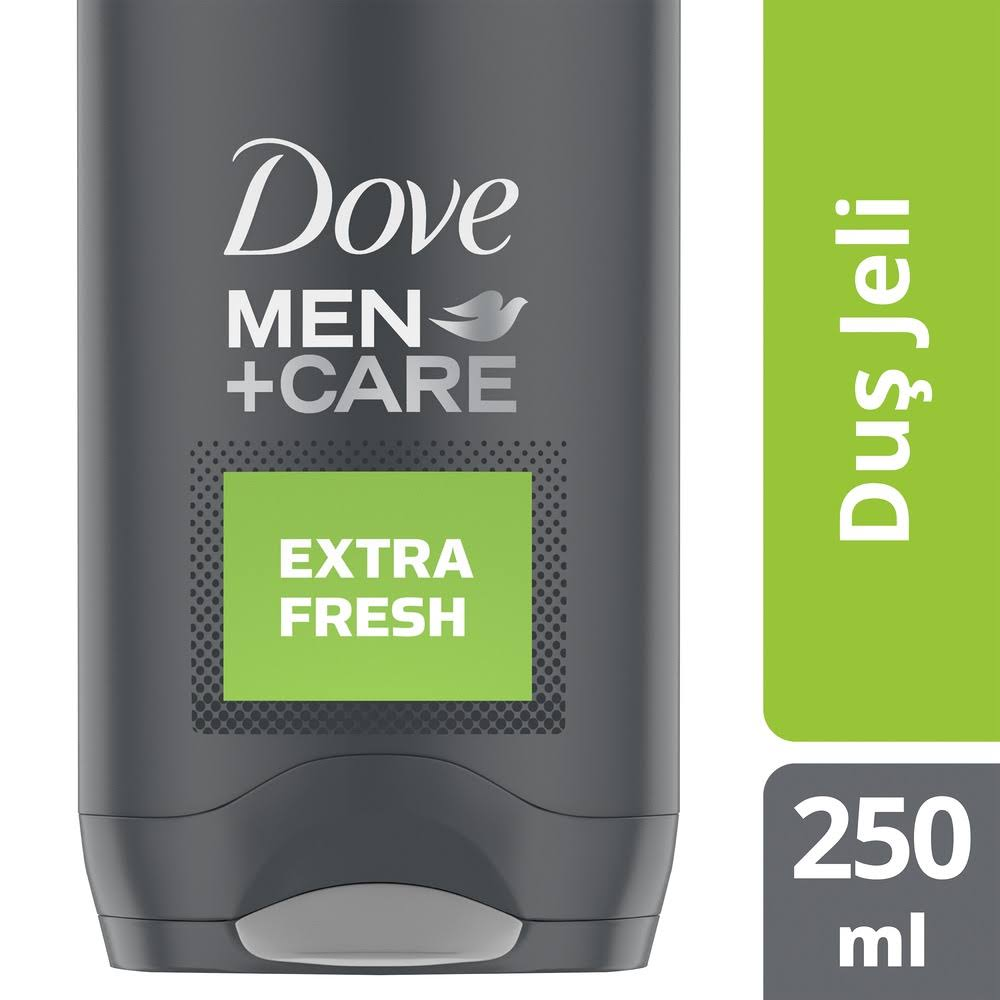 Dove Men+Care Body & Face Wash - Extra Fresh, 250ml