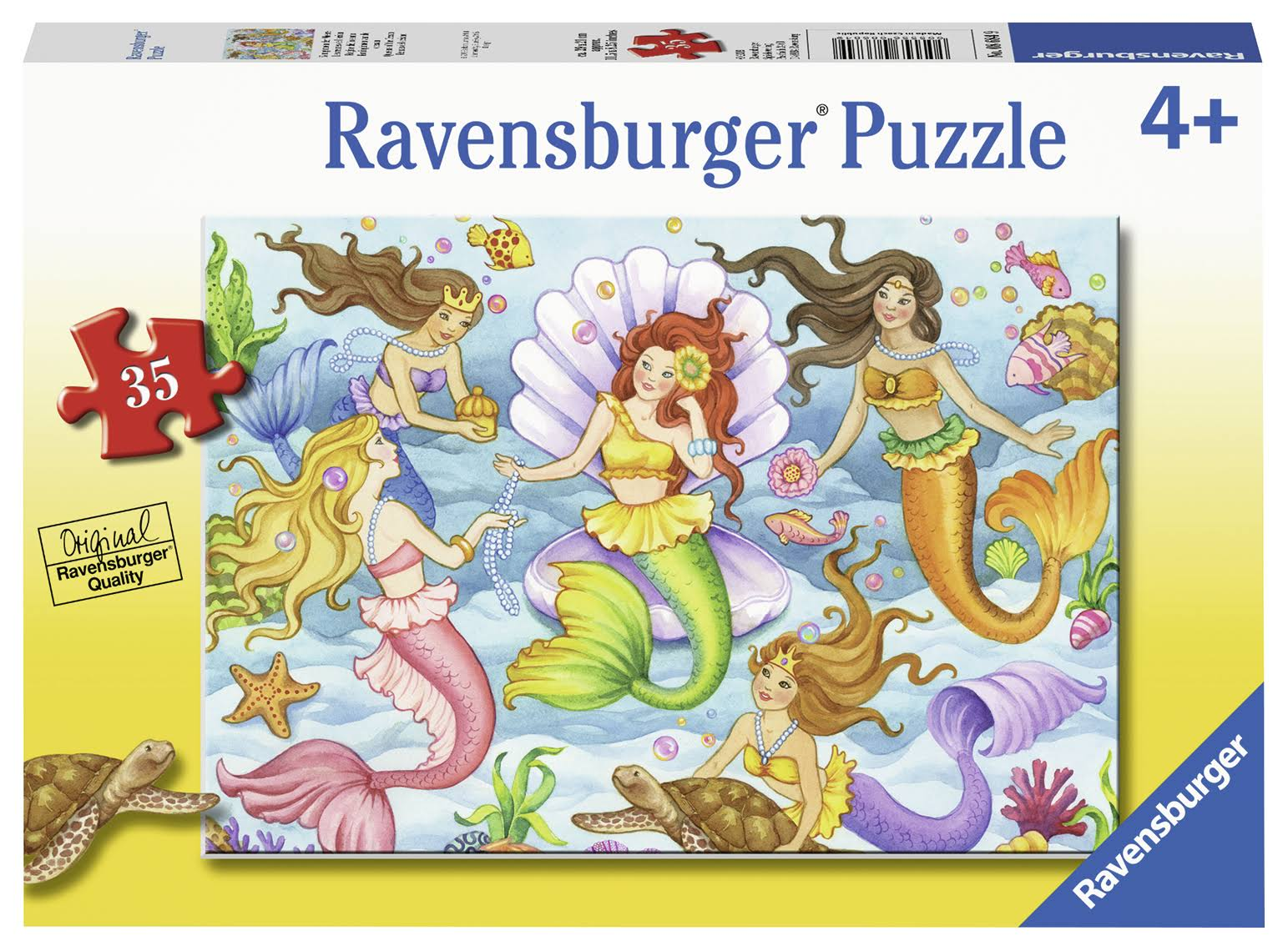 Ravensburger Queens of the Ocean Jigsaw Puzzle - 35pcs